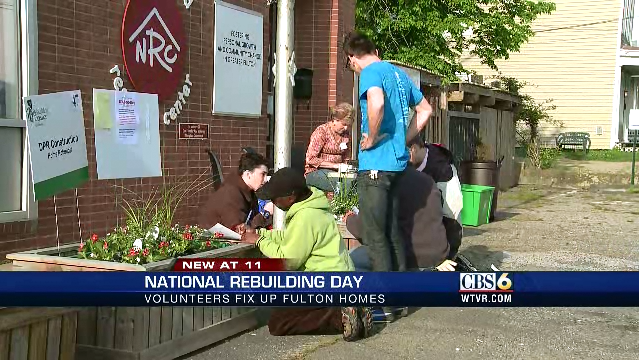 WTVR CBS 6 - RTR National Rebuilding Day