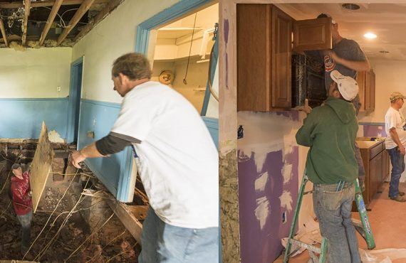 Homeowner Story 1 - before and after